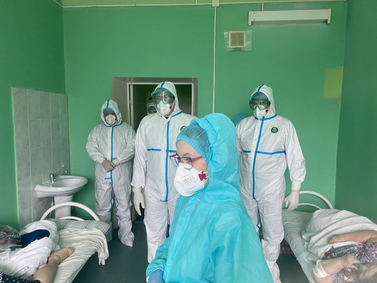 50 дополнительных коек для больных COVID-19 развернут в Уренской ЦРБ - фото 1